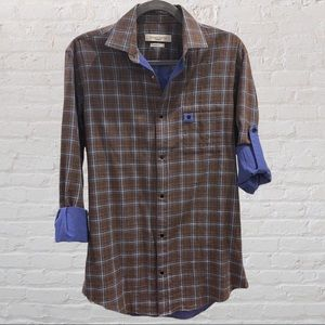 Giovane Gentile Men's Urban Fit Shirt Casual Shirt